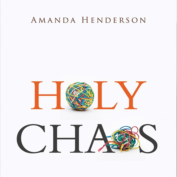 Chaos design with the title 'HOLY CHAOS_THIS DESIGN IS FOR SALE_message me if you like to use this cover for your book.'
