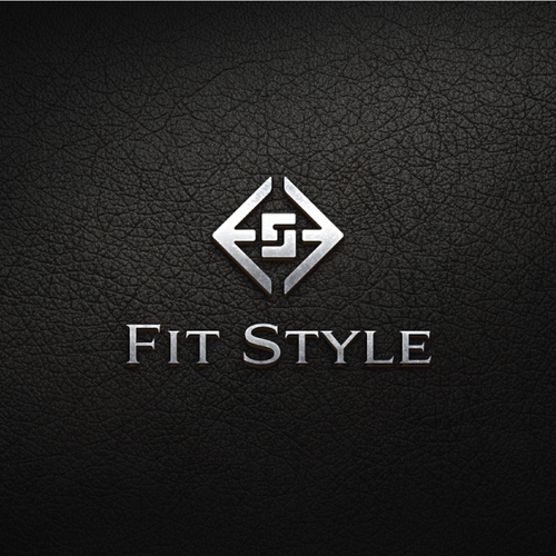 Iconic design with the title 'Logo for Fitness fashion company '