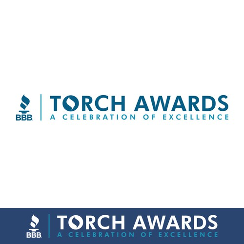 Celebration logo with the title 'BBB Torch Awards'
