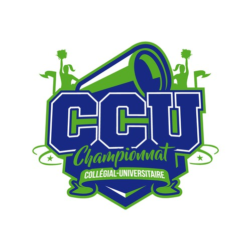 College logo with the title 'CCU Championnat'
