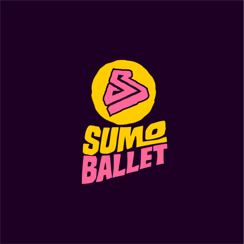 Lettering artwork with the title 'Sumo Ballet'