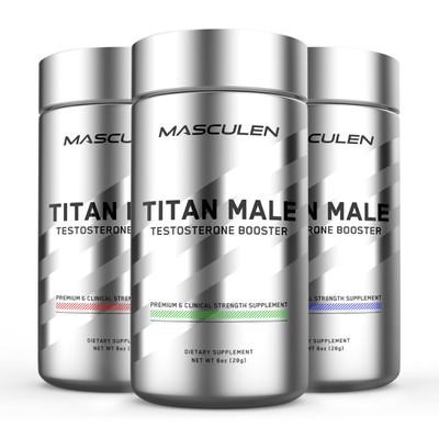 Testosterone Booster Label Design