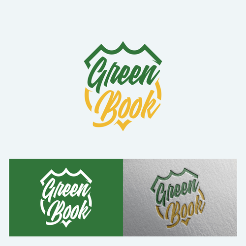 Medicinal marijuana logo with the title 'concept of contest holder'