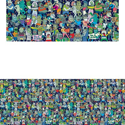 Alien Diversity Pattern