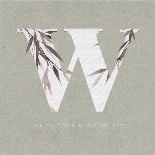 Soft brand with the title 'Logo for a Wellness Coaching Company'