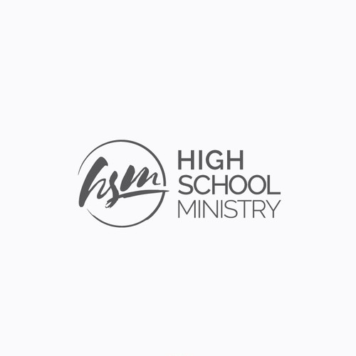 Cultural design with the title 'Youth ministry logo for a thriving high school ministry'