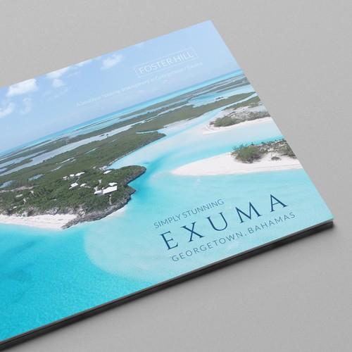 Exotic design with the title 'Exuma I Bahamas'