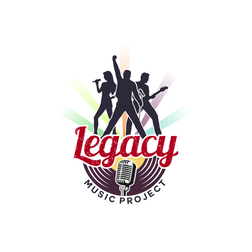 Production house logo with the title 'Legacy Music Project'