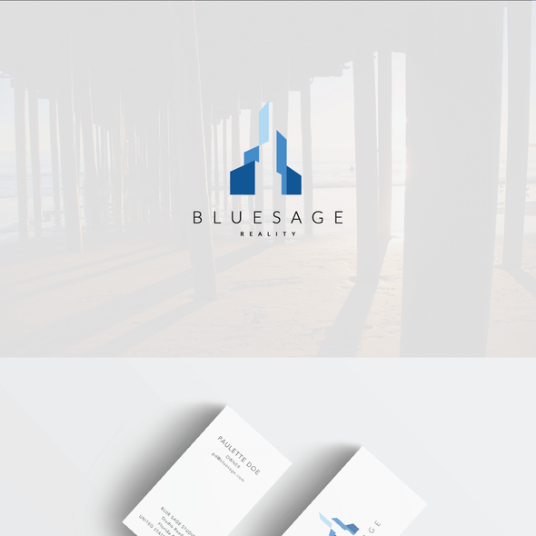 Simple brand with the title 'Logo for an experienced, trustworthy service company'