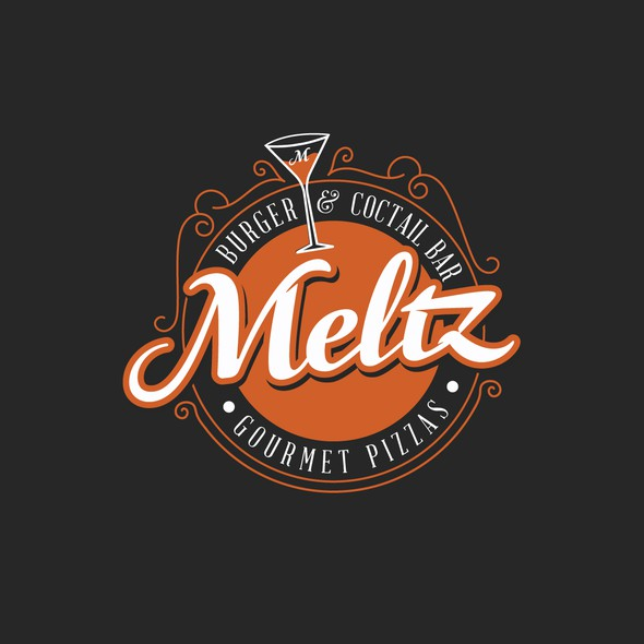 Burger brand with the title 'Meltz'