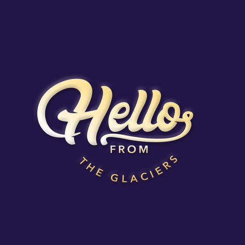 Appealing logo with the title 'Hello from'