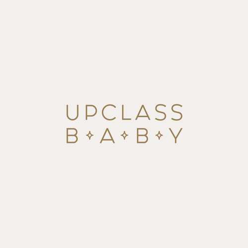Classy logo with the title 'Upclass Baby'