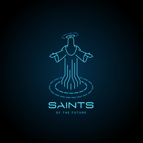 Jesus logo with the title 'Saints of The Future'