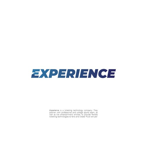 Venue logo with the title 'Experience'