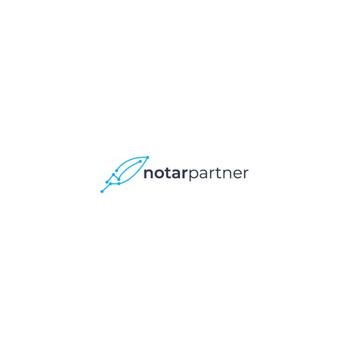 Dot design with the title 'NotarPartner'