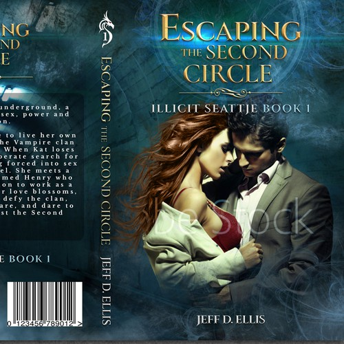 Underground design with the title 'Escaping the Second Circle Book Cover'