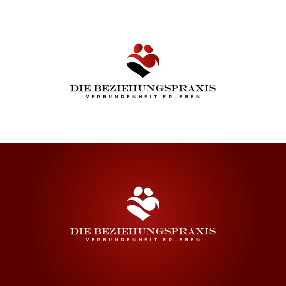 Psychotherapy logo with the title 'Die Beziehungspraxis'