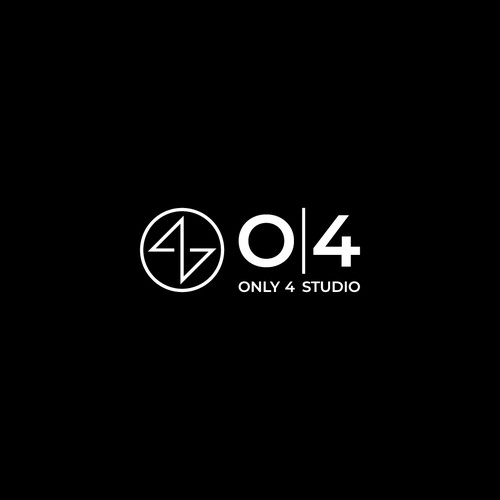 Personal design with the title 'Logo Design for Only 4 Studio'
