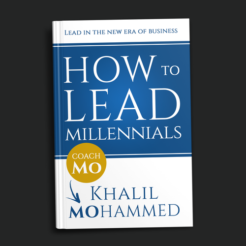 Lead design with the title 'How to Lead Millenials'