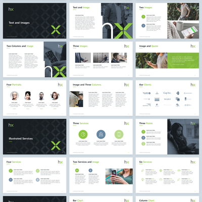 Telecommunication Market Research Company Presentation Template