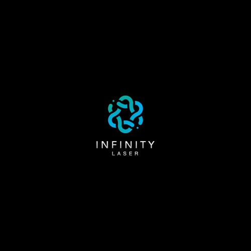 Laser logo with the title 'Infinity Laser'