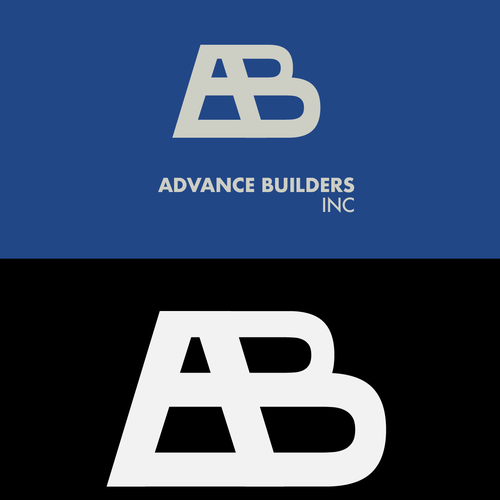 Modernist design with the title 'Strong and modern logo for a construction company.'
