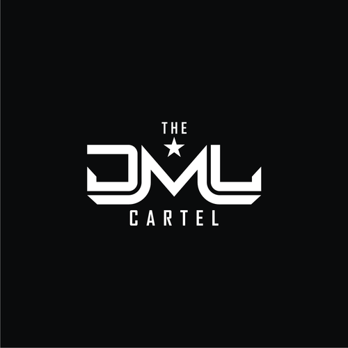 Group logo with the title 'THE DML CARTEL LOGO'