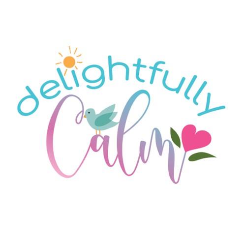 Bird logo with the title 'calm logo'