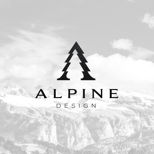 Alpine design with the title 'Alpine Design'