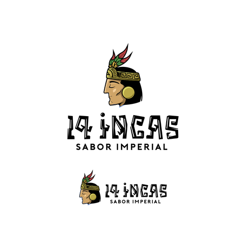 Traditional brand with the title 'Inca tribe'