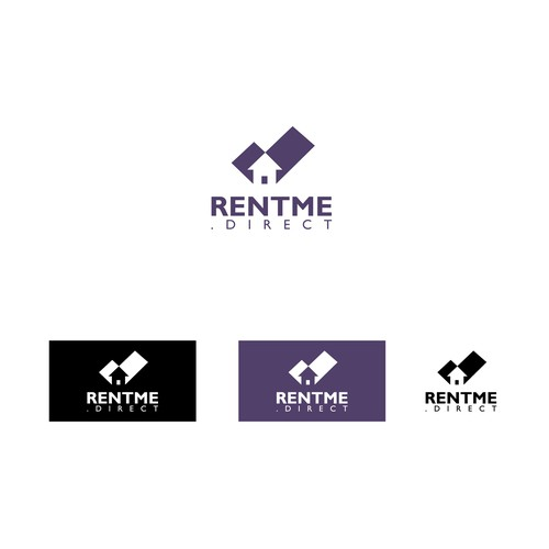 Real estate logo with the title 'Creative, minimal real estate logo'