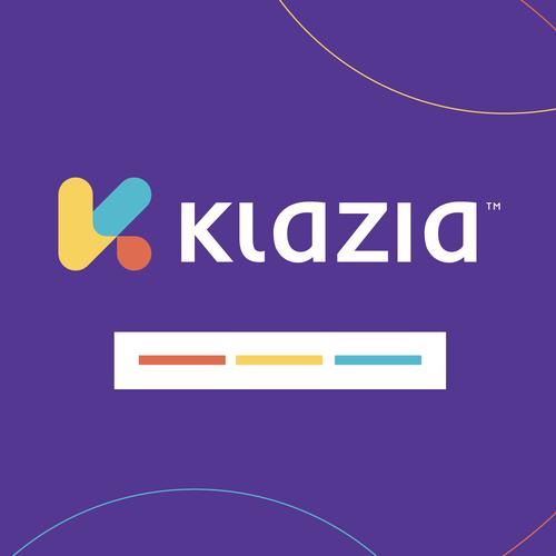 Talking design with the title 'klazia'