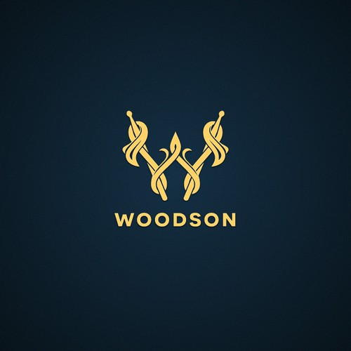 Regal logo with the title 'Woodson Drums'