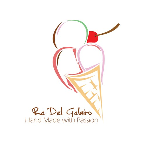 Fruity design with the title 'Sweet Fruity 2 for Re Del Gelato'