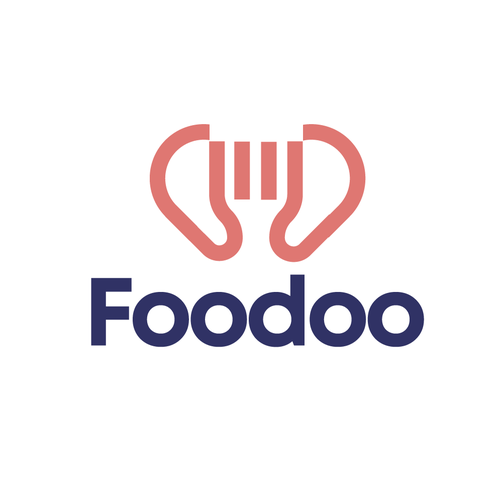 Fork logo with the title 'Foodoo'