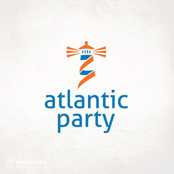 Political campaign design with the title 'Atlantic Party'