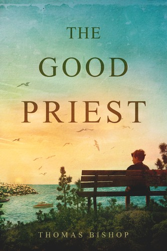 Book cover with the title 'The Good Priest - book cover -'