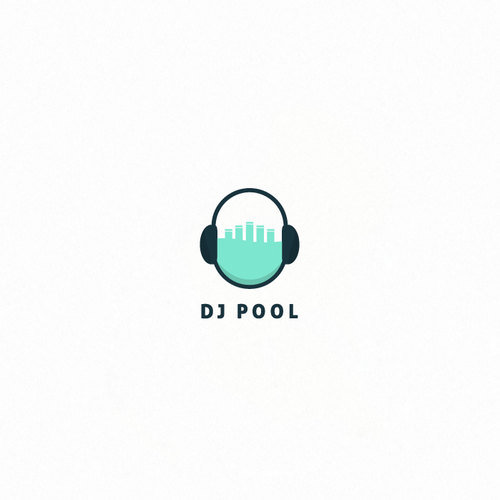 Awesome design with the title 'Awesome logo for DJ POOL'