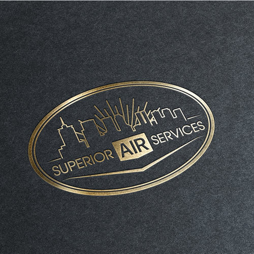 Air design with the title 'Superior Air Services'