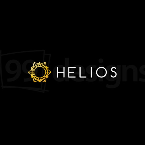 Sacred logo with the title 'Helios Logo'