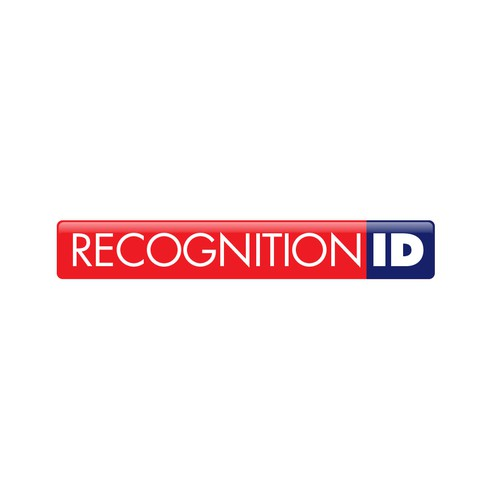 Glossy design with the title 'Recognition ID Logo'