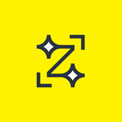 Flash logo with the title 'Z letter'