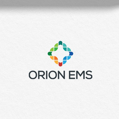 Cross design with the title 'ORION EMS'