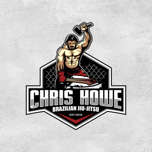 MMA logo with the title 'LOGO FOR CHRIS HOWE'