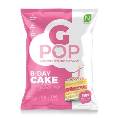 G Pop Gourmet Protein Popcorn