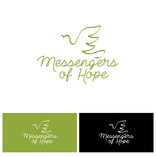 Messenger design with the title 'Messengers of Hope'