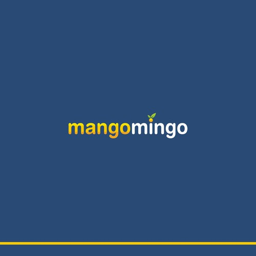 Mango logo with the title 'MangoMingo. Logo for Dating Service Focused on Women From Southeast Asia.'