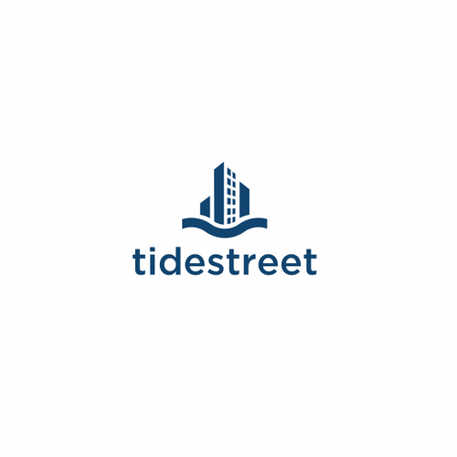 Avenue logo with the title 'Logo design for TIDESTREET'