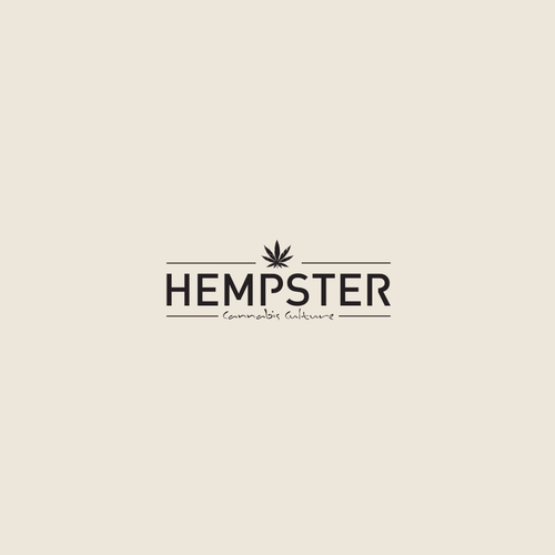 Pot logo with the title 'Hempster Cannabis Culture'
