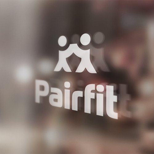 Couple logo with the title 'Use your creativity to design a logo for a unique fitness app. Respect for originality!'